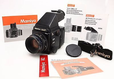 Mamiya RZ67 Pro II outfit, Z 110mm F2.8 lens, AE Prism, 220 back #356472