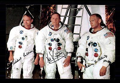 Apollo 11 ++Autogramme++ ++1 Mondlandung 1969  ++CH 18
