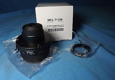 Nikon Microscope E2-ca Abbe Condenser 1.25na Eclipse Part Mcl71100 New