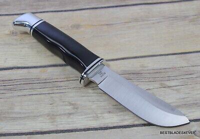 BUCK 103 SKINNER FIXED BLADE HUNTING KNIFE MADE IN USA FULL TANG LEATHER SHEATH