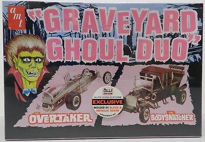 Graveyard Ghoul Duo Auto World Overtaker Bodysnatcher Barris Amt Model Kit