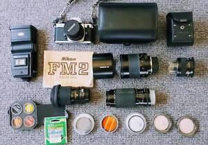 Camera & many lenses