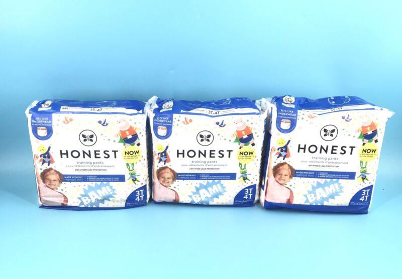 The Honest Company Disposable Training Pants, Super Heroes, 3T/4T, 23 ct - 3 PKS