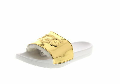 UGG Damen - Pantoletten ROYALE GRAPHIC METALLIC - gold