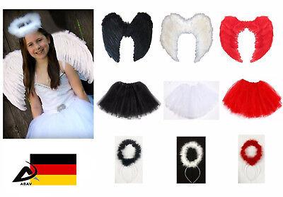 Engel Weihnachtsengel Kostüm Flügel Heiligenschein Engel kostüm Kinder Fasching
