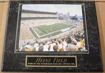 Pittsburgh Steelers Heinz Field Framed - *overstock sale* HEINZ FIELD PITTSBURGH STEELERS FRAMED 8X10 PHOTO-12X15 PLAQUE