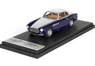 Ferrari 212 Inter Vignale Coupe 1951 Ch0135E Dark Metal Blu BBR 1:43 BBR190B