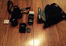 Nikon D3100 camera w/18-55mm & AF-S 35mm 1.8G lens & speedlight East Victoria Park Victoria Park Area Preview