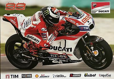 Valentino Rossi Ducati MotoGP New Bike POSTER #5