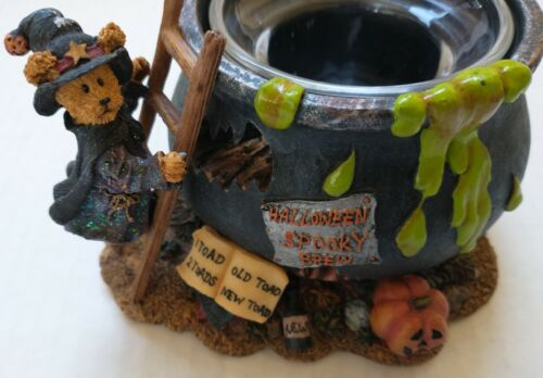 Boyds Bear Witchy Boos Brew Votive Candle Holder, Halloween, #27740