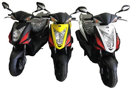 2018 Kymco Agility RS 125, FREE HELMET all colours in stock