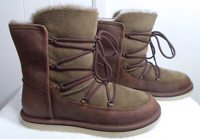 NEW UGG Boots LODGE Chocolate Brown Women's Size (Chocolate Brown Ugg Boots)