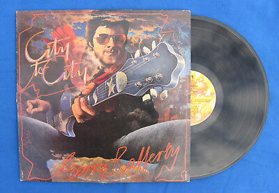 """Gerry Rafferty-""""City To City Lp"""" Stealer's Wheel-Bob Dylan-Music>Records-Great!"""