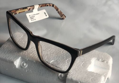 Christian Siriano Anna 54-19-140 Brown/pt Women's eyeglass