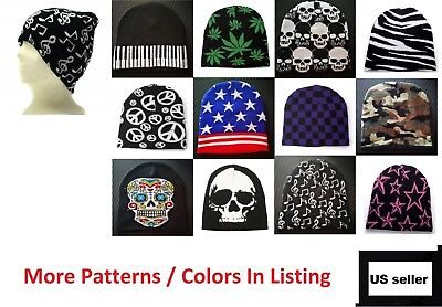 Beanie Plain Knit Ski Cap Hat Skull Warm Winter Colors Unisex Men Woman Beany  ()