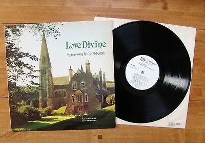 """LP Fisherfolk, The """"Love Divine: Hymns Sung By"""" Isles CELEBRATION RECORDS CR1018"""
