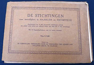Vtg 1920S  Pamphlet Deaconess Bethesda Sarepta Haarlem Dutch Netherlands