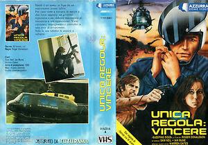 Unica regola : Vincere (1986) - VHS Azzurra Video - Sam Neill Warren Oates UNICA - Bancole, Italia - L'oggetto può essere restituito - Bancole, Italia