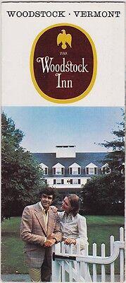 c1970 The Woodstock Inn Woodstock Vermont Brochure