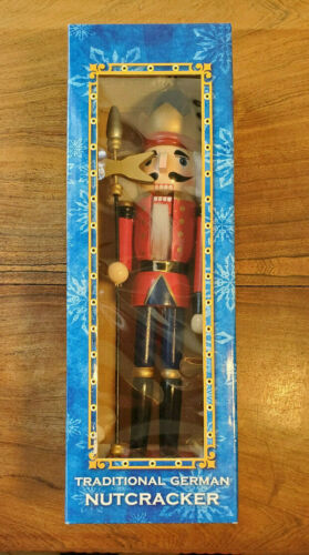 Alstertor Traditional German Nutcracker Style #KY1302-A Made In Germany (NEW)