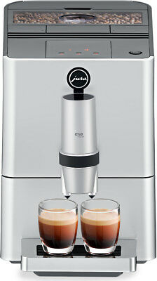 Jura 15106 ENA Micro 5 Knee-jerk Coffee Machine, Silver