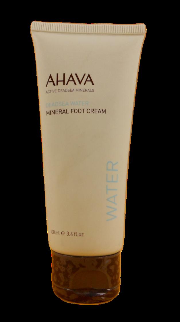 AHAVA Dead Sea Mineral Foot Creams