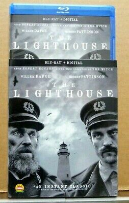 The Lighthouse (2019 Blu-ray) Robert Pattinson Willem Dafoe SLIPCOVER No Digital