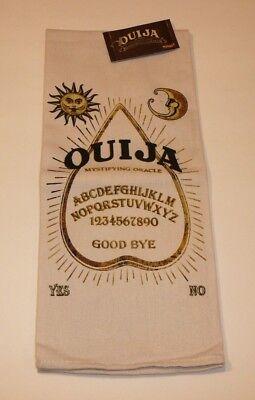 Ouija Mystifying Oracle Decorative Kitchen Dish Towel Novelty Halloween - Halloween Kitchen Decor