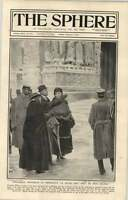 1919 Pres Wilson Visits Bombarded City Of Rheims -  - ebay.co.uk