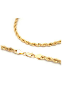 Rope chain 14k gold 20 inches