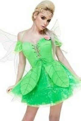 Melonhopper Forest FAE Woodland Fairy Halloween Costume size: 2X Tinkerbell New!