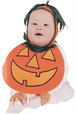 Baby Pie Costume (Baby Pumpkin Pie Patch Bonnet and Bib Costume 0-9)