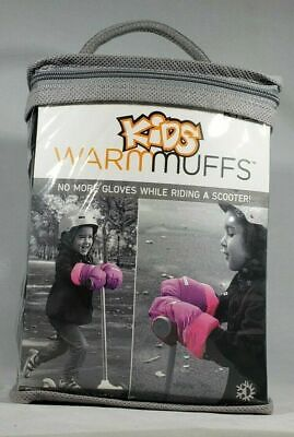 7amenfant KIDS WARM MUFFS LARGE CANDY (PINK) AGE 6+ ATTACH TO SCOOTER BIKE