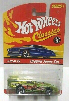 2004 Hot Wheels Classics Series 1 Firebird Funny Car Boylan's Beauty Light Green