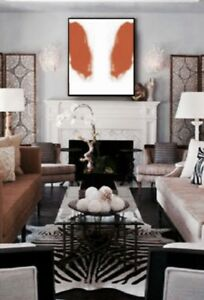 Large Abstract Painting Custom Colours Available Only $220
