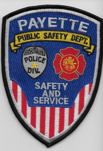Payette Publc Safety Police State Idaho ID