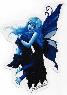 BLUE FAIRY Sticker Car Decal goth gothic faery faerie