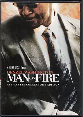 Man On Fire  Dvd 2 Disc Collectors Edition   Denzel Washington New Sold As Is