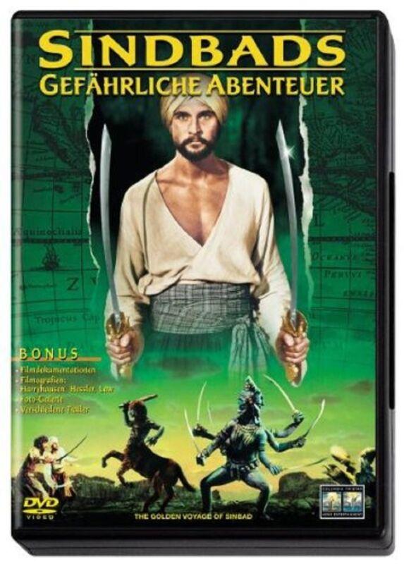 DVD * Sindbads gefährliche Abenteuer * John Phillip Law * NEU OVP