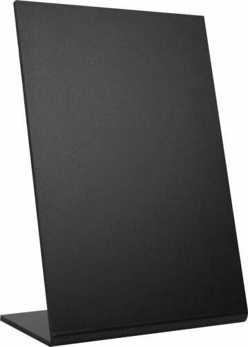Table Top Chalkboard Café Menu with Integral Stand (A6, A5, A4, A3) All Sizes