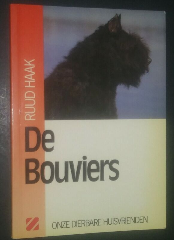 De Bouviers by Ruud Haak Bouvier des Flandres Book in Dutch Onze Hound