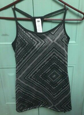 FABLETICS Norwalk Gray Tank/Athletic Top (Size XXS/2) with Built-In Bra *NWT*