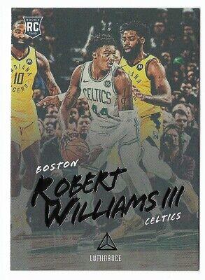 Robert Williams III 2018-19 Luminance Rookie #149 Boston Celtics Basketball (Boston Celtics Rookie Basketball)