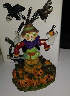 Halloween Tree Scarecrow Lights Up