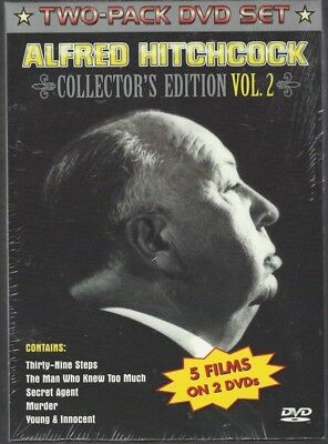 ALFRED HITCHCOCK: Collector's Edition Vol. 2 (DVD, 2-Disc Set, 2002) - NEW