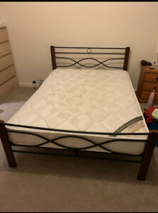 Queen Bed with frame Turner North Canberra Preview