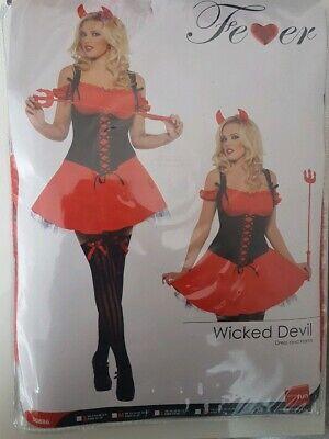 Damen Teufel Kostüm Halloween Wicked DEVIL - Kostüm Wicked