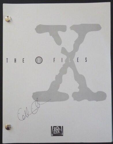 Gillian Anderson Signed Season 9 'Underneath' X-Files Script ORIGINAL