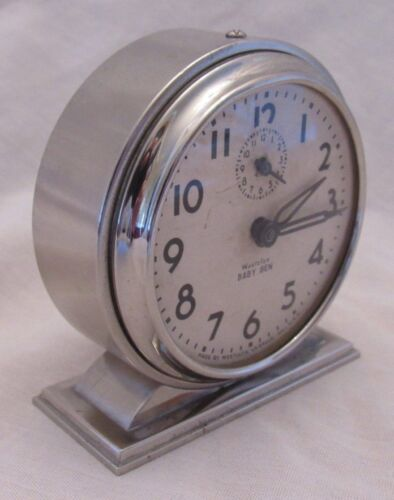 1934 VINTAGE WESTCLOX BABY BEN STYLE 4 ALARM CLOCK-SERVICED (MUSEUM QUALITY)