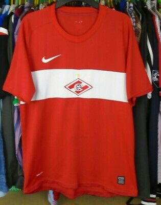 SPARTAK MOSCOW 2009-2010 HOME NIKE FOOTBALL SOCCER  SHIRT JERSEY MEDIUM ADULT image